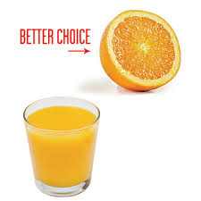 orange instead of OJ